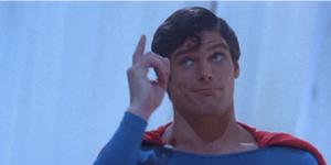 Superman Reaction Face