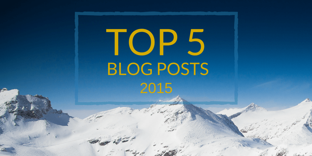 Top 5 Blog Posts of 2015