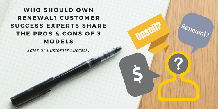 Who owns renewal sales or customer success