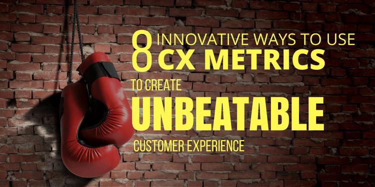 8 Innovative ways to use CX Metrics Feature Image
