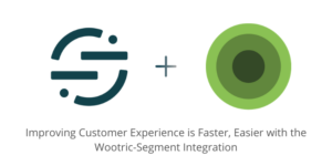 Segment.com logo and Wootric logo