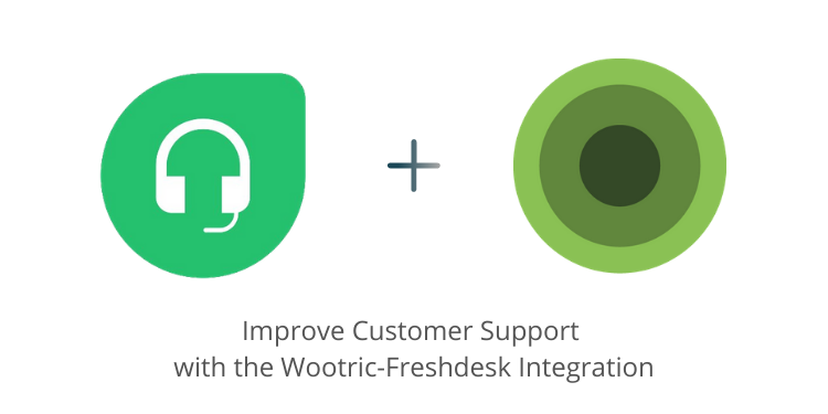 Freshdesk and Wootric logos
